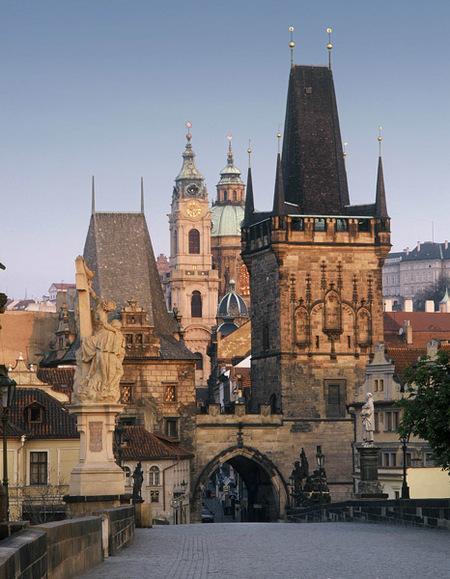 Puerta de entrada Praga