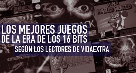 Los cinco mejores juegos de la era de los 16 bits según los lectores de VidaExtra