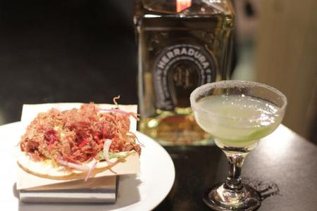 Probamos Taco Pato, la tapa de la Gabinoteca maridada con Tequila Herradura Reposado
