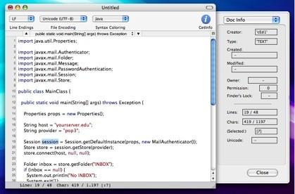 CotEditor: Editor de código para desarrolladores sencillo y ligero