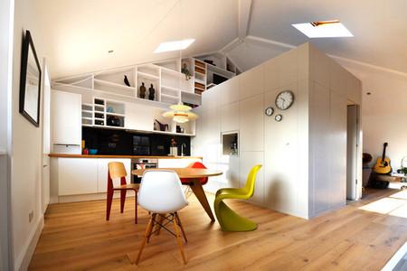 Puertas abiertas: un loft moderno y acogedor en Camden