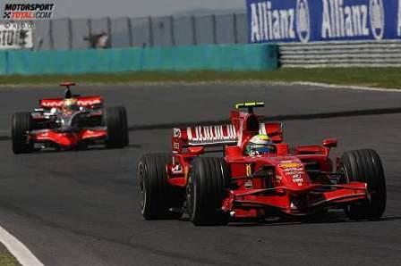 Las diferencias de comportamiento de los neumáticos entre McLaren y Ferrari