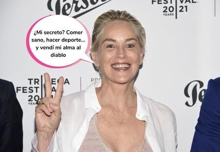 El impresionante posado en bikini de Sharon Stone a los 63 años que se ha hecho viral