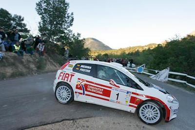 Miguel Fuster. Campeón de España de Rallyes de Asfalto
