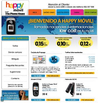 Lanzado Happy Movil, el OMV de The Phone House