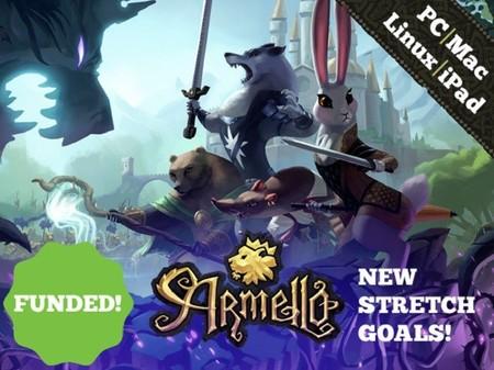 Faltan menos de 24 horas para que termine la exitosa camapaña de Armello en Kickstarter