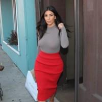 Kim y las faldas lápiz
