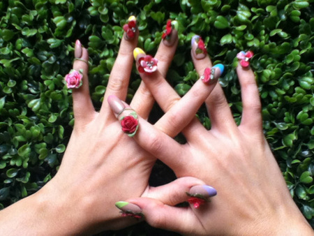 Katy Perry Nail Art