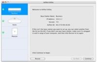 Capturas de pantalla de la Utilidad de Administración AirPort 5.0