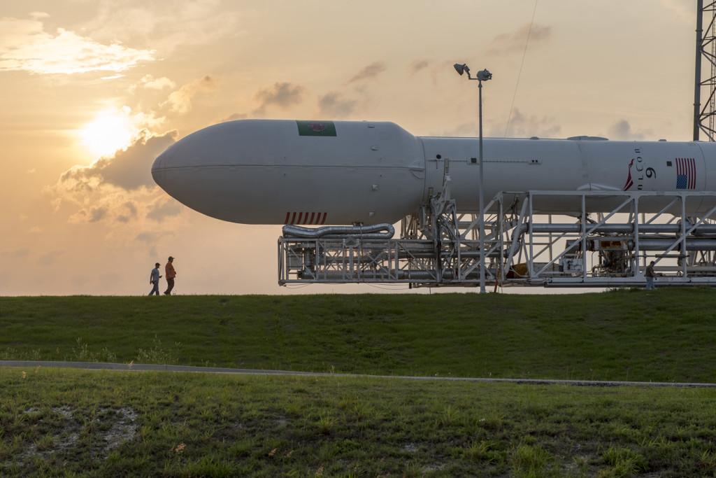 Falcon 9 Rollout