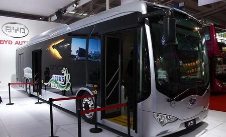 La ciudad de Los Ángeles contará con autobuses eléctricos de BYD