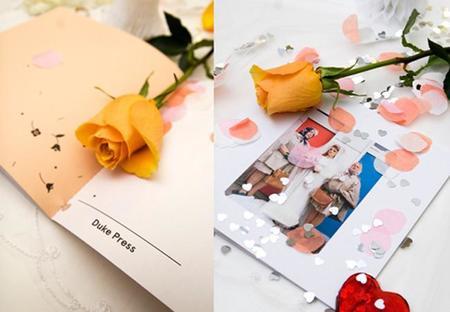 Judith Erwes, fotografías ficticias de boda para San Valentín