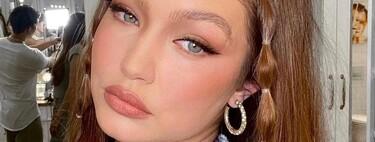Gigi Hadid nos inspira con su último peinado: dos  mini coletas bubble ideales para lucir con el buen tiempo