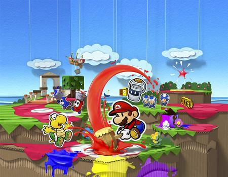 """Paper Mario Color Splash: el """"último"""" juegazo con el que despedimos a Wii U"""