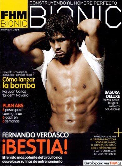 ¡Cómo está de buenorro Fernando Verdasco en FHM Bionic!