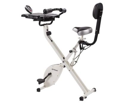 Bicicleta de escritorio: trabajar y ejercitarse al mismo tiempo