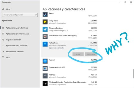 Tu Telefono Windows 10