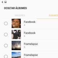 Cómo ocultar álbumes de fotos en la Galería de Samsung