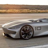 Infiniti se atreve a reformular el concepto de speedster clásico con el Prototype 10