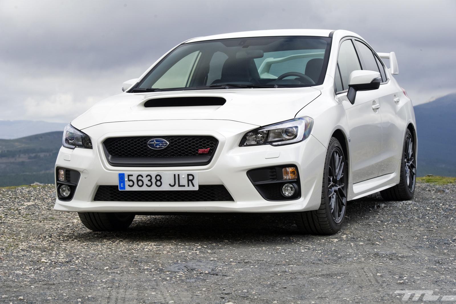 Subaru WRX STi, prueba