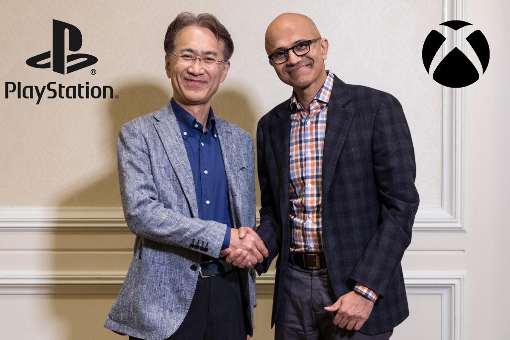 Sony y Microsoft dejan a un lado la rivalidad y se unen para impulsar el streaming de videojuegos y servicios en la nube