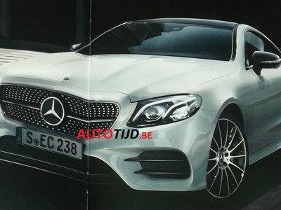 ¡Filtrado! El Mercedes-Benz Clase E Coupé es el mini S Coupé que imaginabas