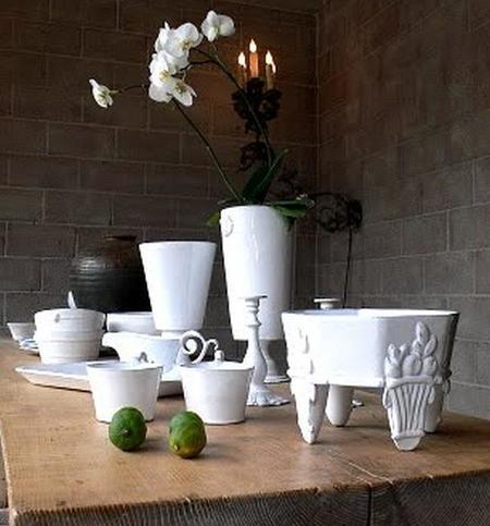 Astier, Wood Table, Orchid