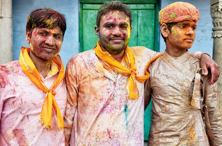 Lluís Salvadó - Los rostros del Holi, India