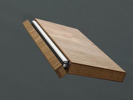 Fundas de madera para Mac