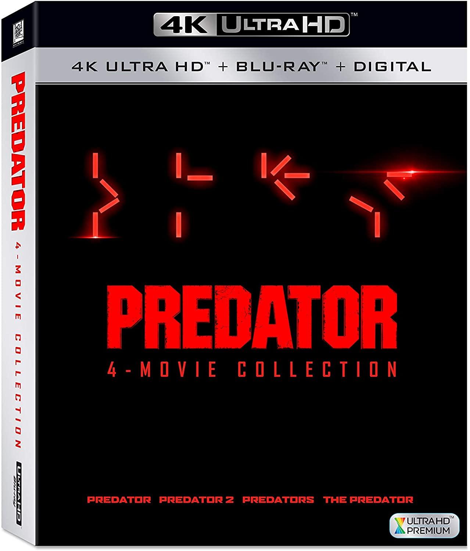 Predator: 4-Movie Collection en Blue-ray 4K