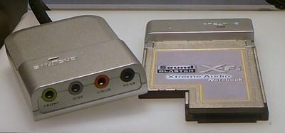 Creative X-Fi for notebooks, tarjeta de sonido para portátiles