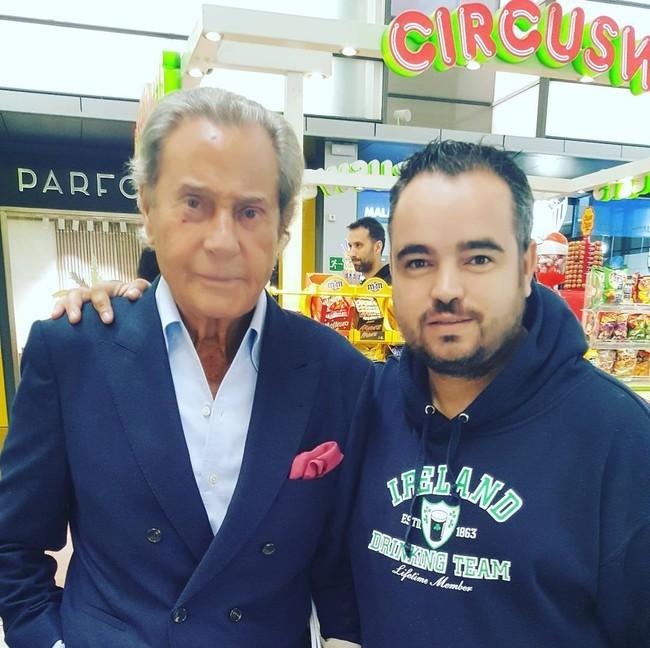 Fran Falcon Con Arturo Fernandez