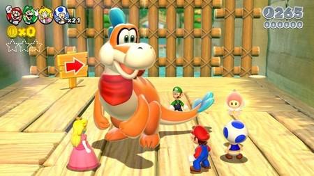 Nueve minutos de 'Super Mario 3D World' en tres fases distintas