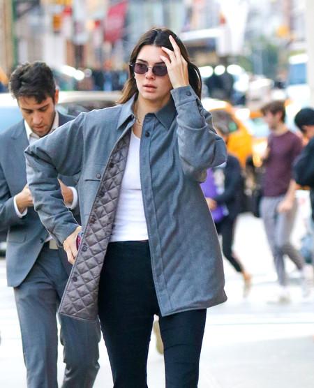 Kendall Jenner, Heidi Klum y Gigi Hadid nos muestran (a su manera) que los abrigos oversize prometen ser los reyes de la temporada