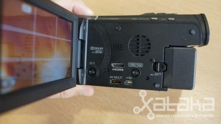 Conexiones principales de la Panasonic X900