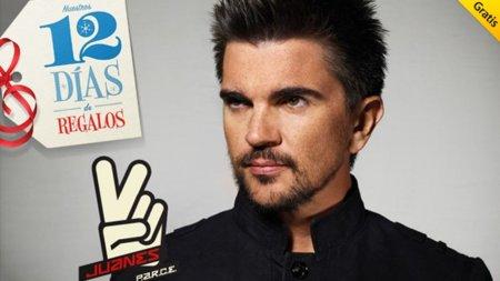 Los 12 días de regalos de Apple arrancan con Juanes