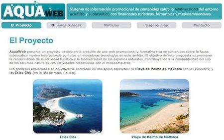 Aquaweb, sumérgete en aguas de las Islas Cíes y Mallorca