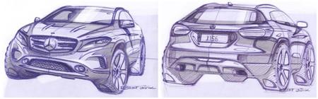 Mercedes-Benz GLA, a punto de caramelo