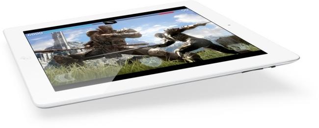 Nuevo iPad 4 con pantalla retina