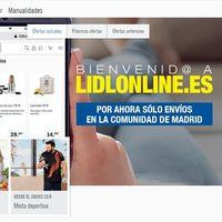 Lidl estrena en Madrid su tienda online para España (solo para el bazar)