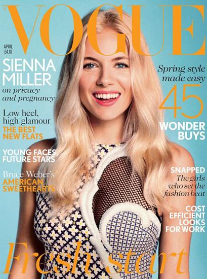 Sienna Miller Vogue
