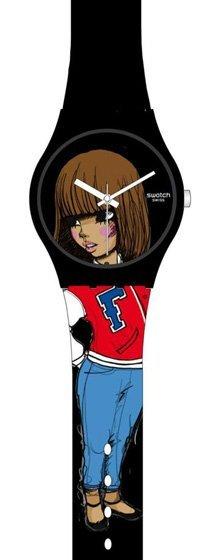 El colectivo FAFI ya tiene su reloj Swatch