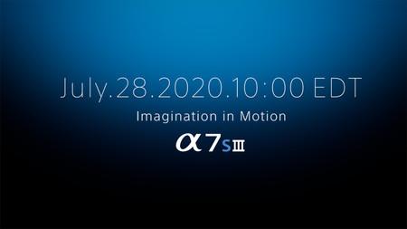 La nueva Sony A7S III se presenta el 28 de julio: esto es todo lo que creemos saber sobre la nueva cámara de formato completo