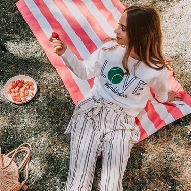 Esta es la sudadera del momento en Instagram: Polo Ralph Lauren ha invadido Wimbledon 2018