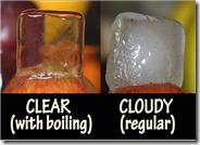 Cómo hacer cubitos de hielo transparentes