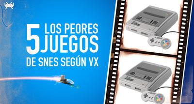 Los cinco peores juegos de SNES según VidaExtra