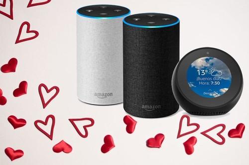 Alexa ¿me quieres? Amazon rebaja algunos de sus altavoces inteligentes y otros de sus dispositivos por San Valentín