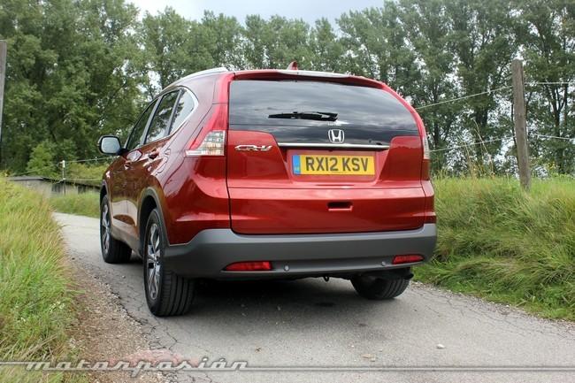 Honda CR-V, vista posterior
