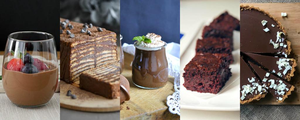 Cinco vídeo recetas con chocolate fáciles y deliciosas que se preparan en un santiamén