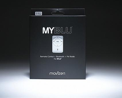 Myblu, para usar con el iPod y un teléfono